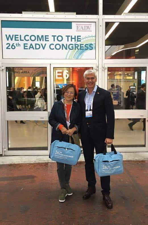 26-й Конгресс Европейской Академии дерматовенерологии (EADV). Батпенова Г. Р. и Заславский Д. В.