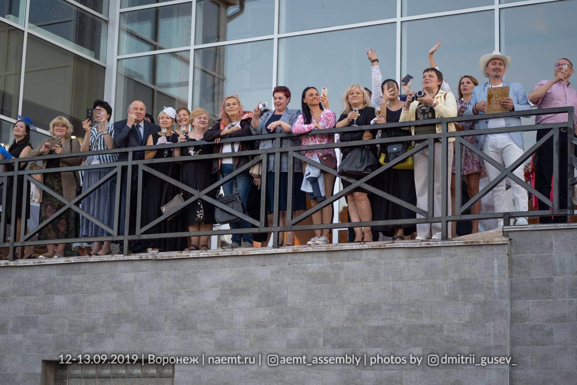 Гала-ужин в рамках АЭМТ 2019 Воронеж. Ипподром, пос. Бабятово. Ассамблея эстетической медицины и трихологии с международным участием.